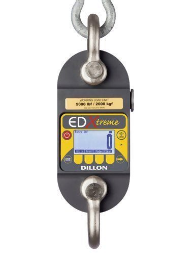 Dillon AWT05-506305 EDx-10T EDxtreme with 2 shackles & Radio Output, 25,000 lbf Capacity